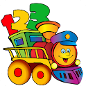 Kids Learn Numbers Train icon