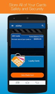 eGifter – Online Gift Cards - screenshot thumbnail