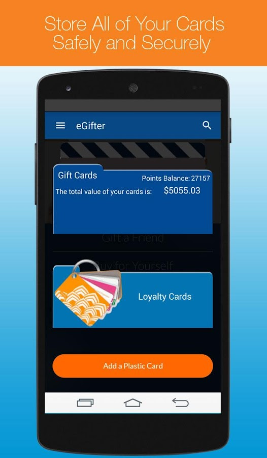 eGifter – Online Gift Cards - screenshot