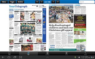 Screenshot of The Northamptonshire Telegraph