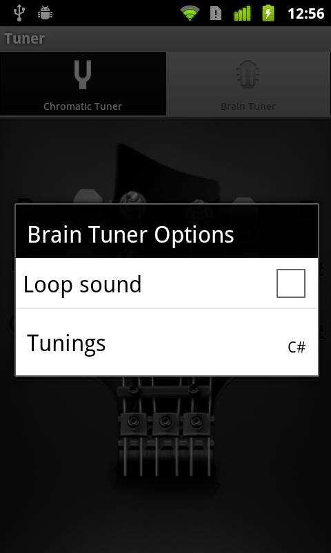 Ultimate Guitar Tuner - screenshot