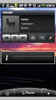 Screenshot of Media Volume Bar Widget