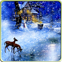 Christmas Snowfall Wallpaper icon