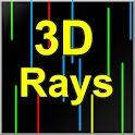 3D Rays Live wallpaper icon