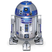 R2D2 Star wars droid R2-D2