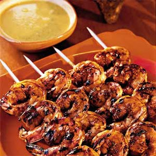 Mexican-Grilled Shrimp with Smoky Sweet Sauce