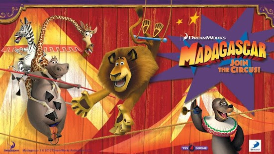 Madagascar -- Join the Circus!- screenshot thumbnail