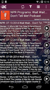OneCast - podcast simply- screenshot thumbnail