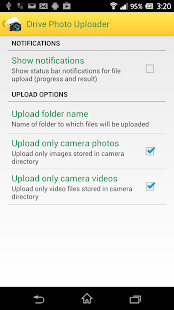 Photo Uploader for Drive- screenshot thumbnail
