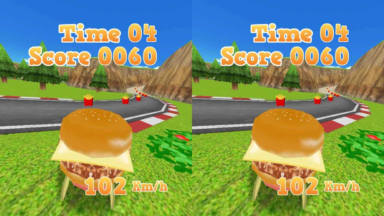 VR BURGUER RUNNER- screenshot