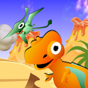 QCat Toddler Dinosaur Park icon