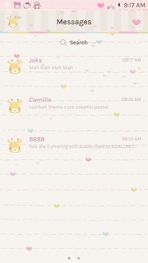 Lolliball GO SMS