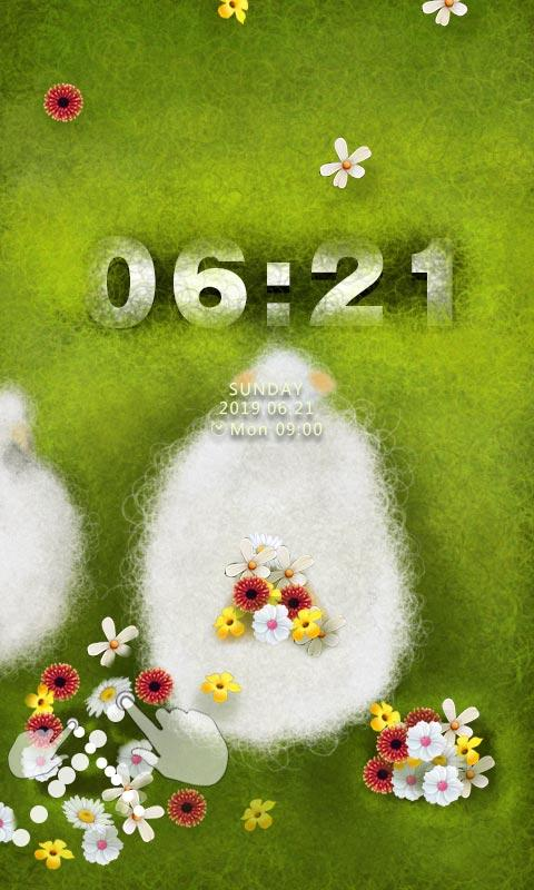 ZSpringSheep GO Locker Theme - screenshot