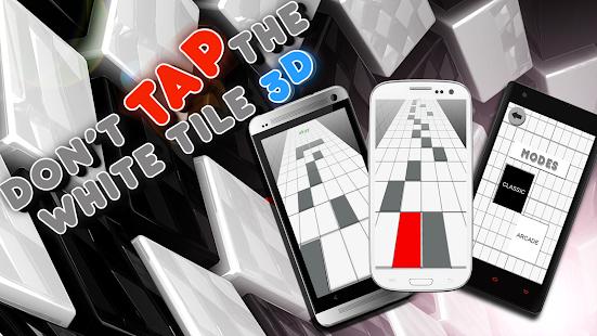 不要点击白色钢琴瓷砖3D