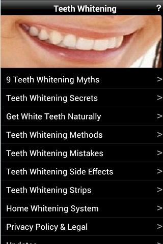 Teeth Whitening - screenshot