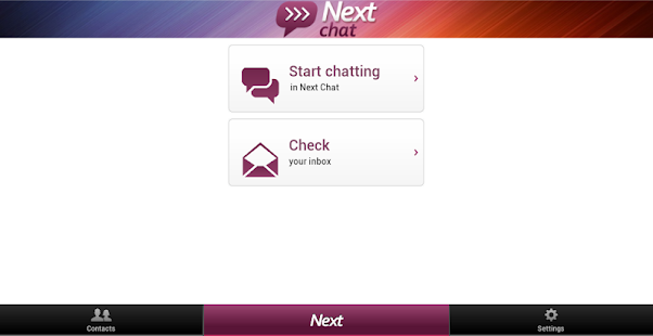 Next Chat Anonymous Dating- screenshot thumbnail