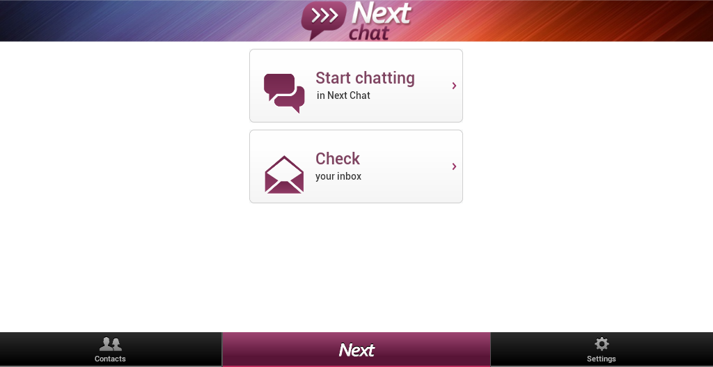 Next Chat Anonymous Dating - screenshot