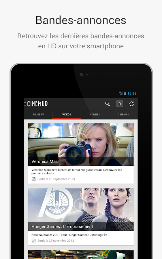 Cinémur - screenshot