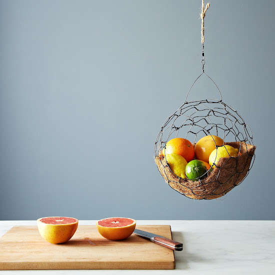 Spherical Hanging Basket on Provisions