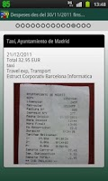 Screenshot of Tradisa Travel Expenses