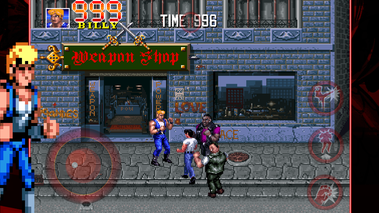 Double Dragon Trilogy screenshot #3