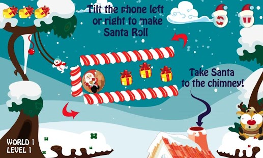 Santa Roll- screenshot thumbnail