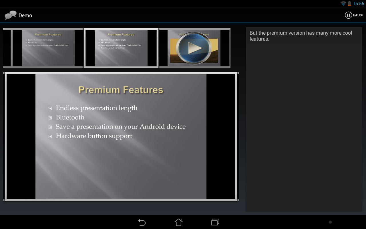 Remote Presenter Premium- screenshot