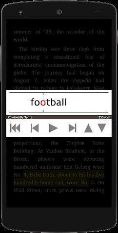 SpeedRead With Spritz Screenshot