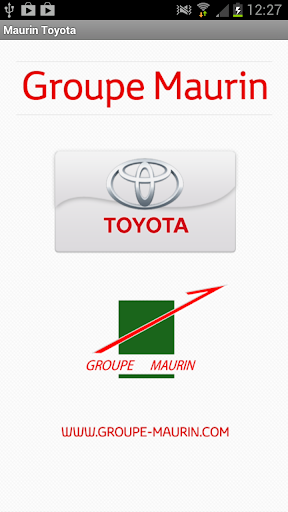 Toyota Motor Europe Corporate Site Mobile Application