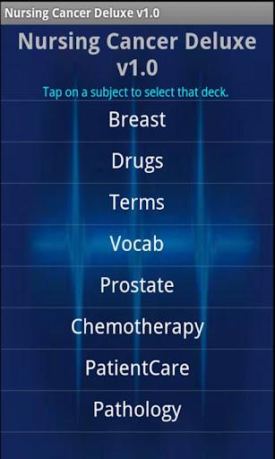 Nursing Cancer Deluxe