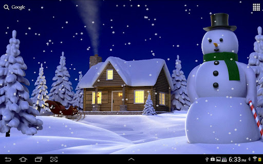 Snowy Live Wallpaper HD