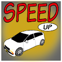 Speed Up Car Driving 3D icon