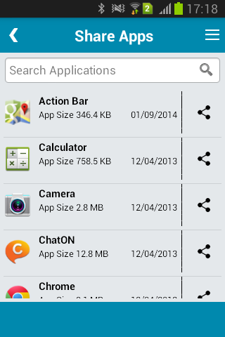 Share Apps