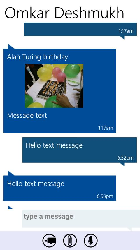 Messaging 7- screenshot