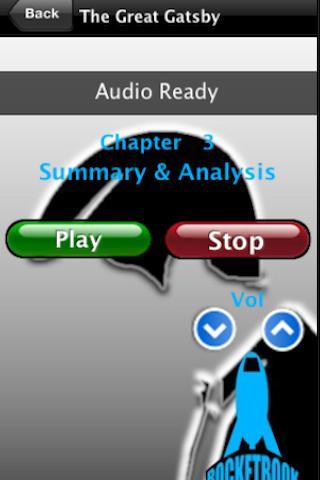 Audio- The Great Gatsby- screenshot
