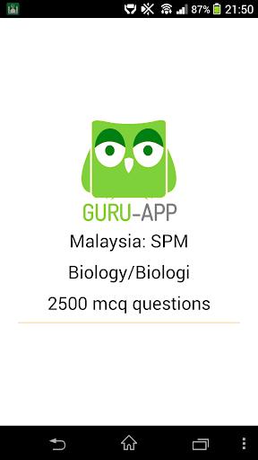SPM Biology Guru-App 1.0