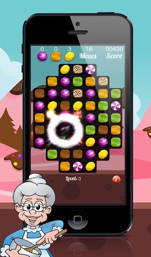 Happy Granny : Candy Match 3 Puzzle 2.0 screenshots 2