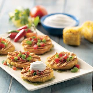 Tamale Corn Cakes
