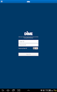 Dime Community Bank for Tablet- screenshot thumbnail