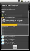 Screenshot of Secret File Locker
