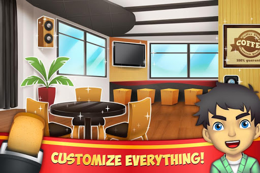 My Coffee Shop - Coffeehouse Management Game 1.0.22 screenshots 2