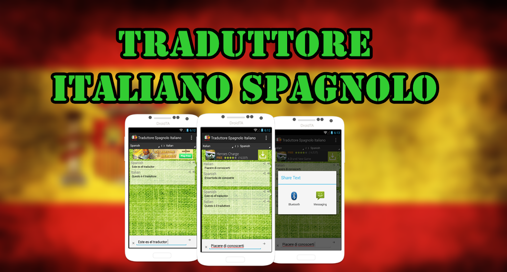 traduttore italiano spagnolo android apps on google play