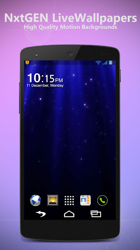 Starry Rays - Live Wallpaper