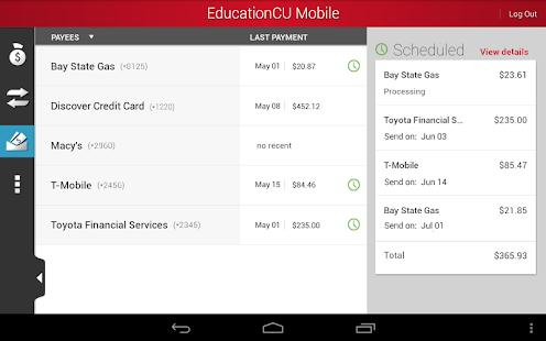 EducationCU Mobile - screenshot thumbnail