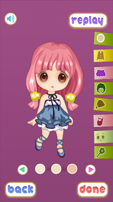 Cosplay Girl Game - screenshot