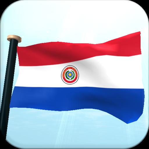 Paraguay Flag 3D Free