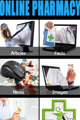 Online Pharmacy - screenshot