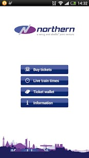 Northern Rail train tickets - screenshot thumbnail