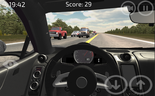 Traffic Racecar Driver