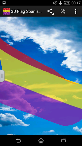 3D Flag Spanish Republican LWP